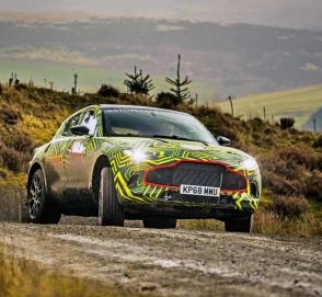 Оцените первый внедорожник от Aston Martin на трассе в Нюрбургринге