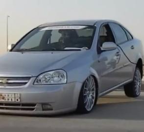 Нереальный арабский тюнинг Chevrolet Lacetti