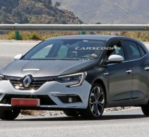 Гибридный Renault Megane 2020 засекли на тестах