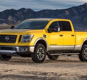 Nissan готовит концептуальный пикап Titan для национальных парков