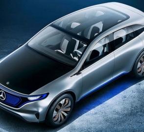 В Женеву едет предсерийный прототип Mercedes-Benz EQ