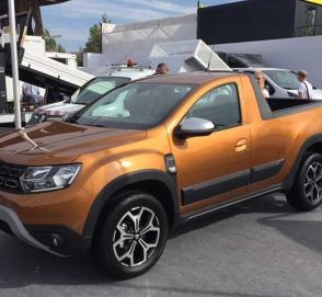 Кроссовер Dacia Duster получил версию пикап