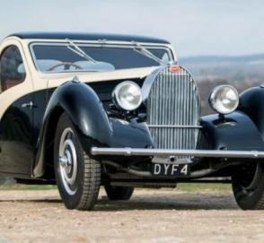 Единственный кабриолет Bugatti продали за полтора миллиона фунтов