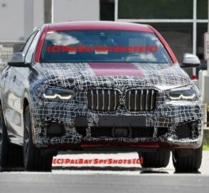 Фотошпионы заметили BMW X6 в спецификации M50i