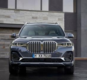 BMW официально представила 7-местный кроссовер X7