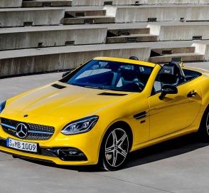Mercedes-Benz прощается с SLC яркой версией Final Edition