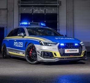 Спорткар Audi поступил на службу в полицию