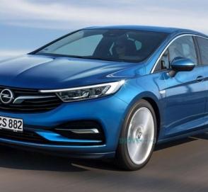 Опубликованы первые фотографии нового купе Opel Astra