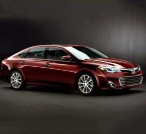 Новая Toyota Avalon выкатила на тесты