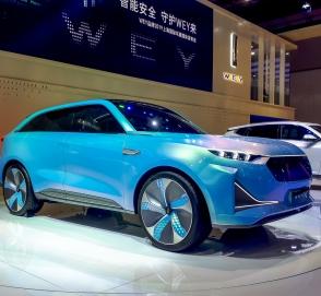 В Шанхае дебютировал премиум-электрокросс Wey X