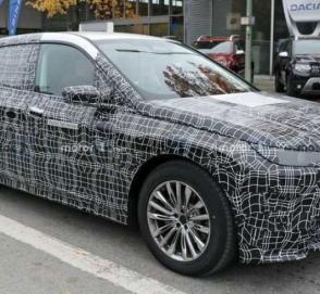 Новый электрокросс BMW получил имя iX