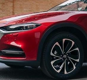 Купеобразный кроссовер Mazda CX-4 показался на официальных снимках