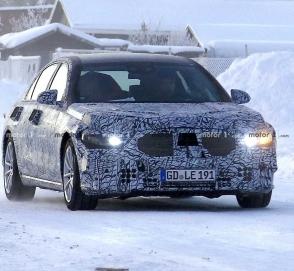 Mercedes-Benz начал испытания нового S-Class
