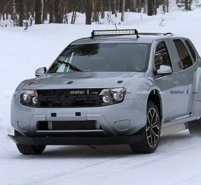 Электрический кроссовер Dacia Duster EV замечен во время тестов