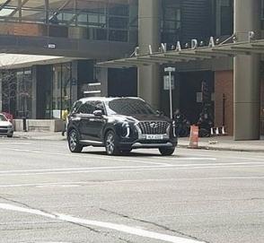 Hyundai Palisade заметили без камуфляжа