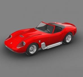 Гликенхаус построит ретроспорткар в стиле Ferrari