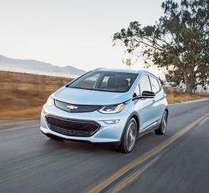 Chevrolet Bolt EV получил обновлённую батарею