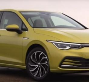 Новый VW Golf показался на видео