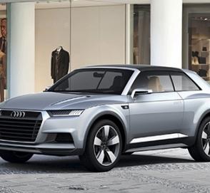 Audi презентует самый маленький кроссовер