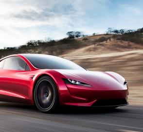 Tesla показала сверхбыстрое ускорение суперкара Roadster на видео