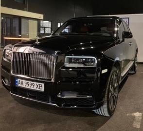 В Украине появился десятый по счету Rolls-Royce Cullinan
