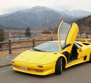 В Украине появился еще один Lamborghini на еврономерах