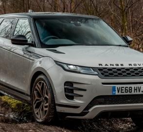 Range Rover Evoque стал первым премиальным внедорожником соответствующим экологическим стандартам RDE2