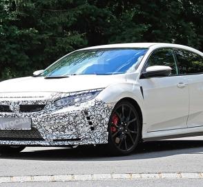 Honda проведет рестайлинг Civic Type R