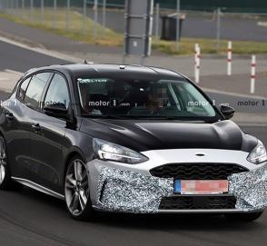 Дизайн спортивного Ford Focus нового поколения рассекретили до премьеры
