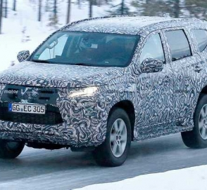 Mitsubishi тестирует обновленный Pajero Sport