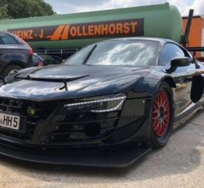 На продажу выставили сверхскоростной Audi