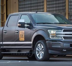 Ford построит F-150 с четырьмя электромоторами