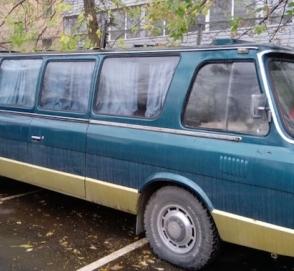 На продажу выставлен редкий микроавтобус ЗИЛ-3207