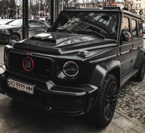 В Украине заметили очередной дорогущий «Гелик» от Brabus