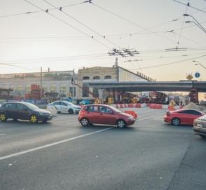 В Киеве установлен прогон Шулявского моста