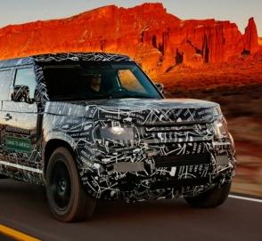 Land Rover выпустит новый Defender в специальной версии для Китая