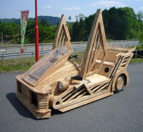Самые необычные самоделки на колесах