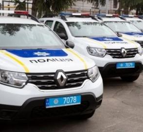 Полиция Украины получила от США 88 новых автомобилей Renault Duster