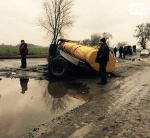 Отремонтировали участок дороги, где погиб Кузьма Скрябин