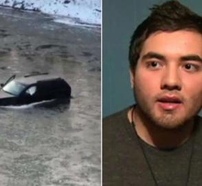Водителя рухнувшего в реку автомобиля спас голосовой помощник Siri