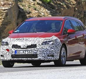 Универсал Opel Astra был замечен без камуфляжа