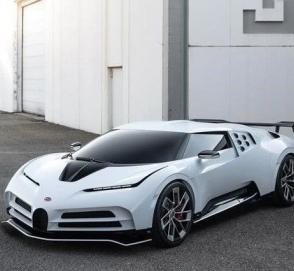 В Калифорнии был представлен новый гиперкар Bugatti