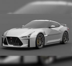 Опубликованы первые изображения нового Nissan GT-R