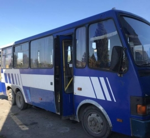 Экспериментальный украинский автобус Эталон Сити выставлен на продажу