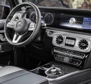 Mercedes-Benz рассекретил интерьер нового «Гелендвагена»