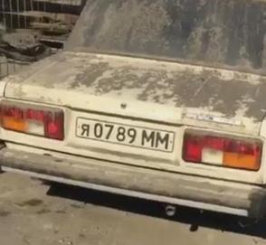 Новый ВАЗ-2105 почти три десятилетия простоял в гараже