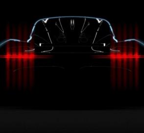 Aston Martin выпустил тизер своего нового супер автомобиля на 1000 лошадок
