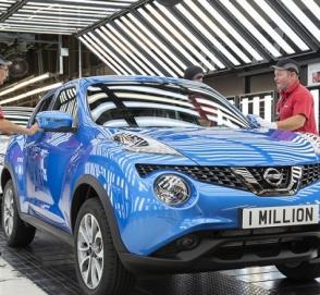 Миллионный экземпляр Nissan Juke сошел с конвейера