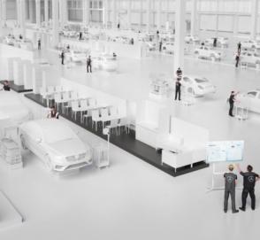 Mercedes-Benz рассказал о заводе будущего