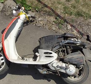 «Взбесившийся» скутер без водителя устроил ДТП
